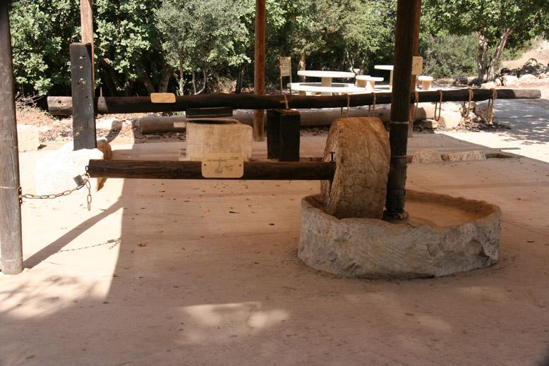 אבן רחיים - בית גוברין