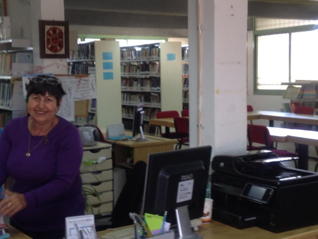 ספרייה מבפנים